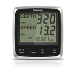 i50 DEPTH DISPLAY W/ THRU-HULL TRANSDUCER
