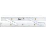 "WEEMS & PLATH 15"" ALUMINUM ARMS PARALLEL RULERS"