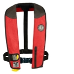 This inflatable PFD combines the convenience of inflatable technology with enhanced safety features and incredible comfort for all day wear. Features: Durable 500 Denier CORDURA outer shell Zippered pocket for phone, keys or liscense Bright yellow inflation cell with SOLAS reflective tape and attachment points for safety whistle and strobe light Provides 35lbs of buoyancy when inflated integrated harness rings for sailing tethers USCG Type V approved