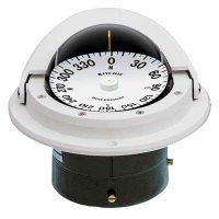 RITCHIE F-82 WHITE VOYAGER FLUSH MOUNT COMPASS F-82W