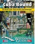 Cuba Bound – The North Coast: Ports of Entry and Anchorages  Cuba Bound – The North Coast: Ports of Entry and Anchorages is the result of 15 years of travel, sailing and exploration of Cuba's coasts and interior. Published and released in January 2016 by Waterway Guide Media, the book provides in depth information and details for boaters headed to Cuba from the United States and Bahamas. Filled with NV Atlas chartlets, selected waypoints, detailed navigation advice and photos, Cuba Bound is a must-have guide for boaters headed to Cuba. Founded in 1947, Waterway Guide Media publishes the popular Waterway Guide series that includes Bahamas, Southern U.S., Intracoastal Waterway, Chesapeake Bay, Northern U.S. and Great Lakes. Cuba Bound was written and designed by Waterway Guide Media on-the-water cruising editors and contains over 40 destinations and anchorages, ports of entry, maps and advice for going ashore.  Spiral bound. Water resistant covers. 100 pages