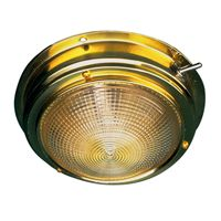 BRASS DOME LIGHT 6-3/4 IN SD4002051